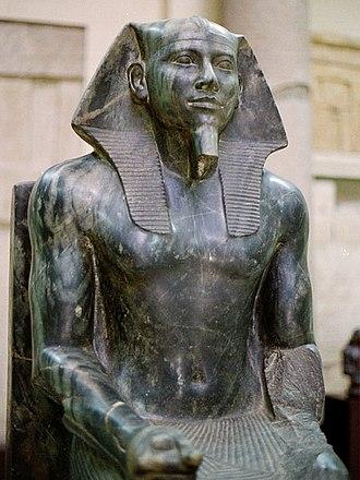Khafre Enthroned, c.2570 BC - Ancient Egypt