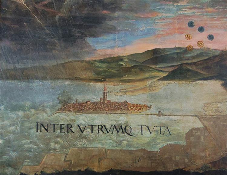 Veduta Kopra - Domenico Tintoretto