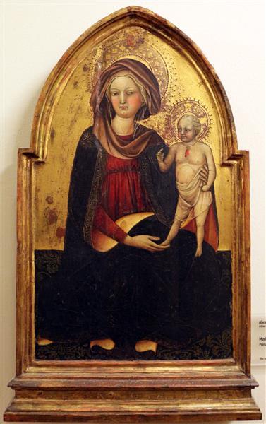 Madonna Col Bambino - Álvaro Pires de Évora