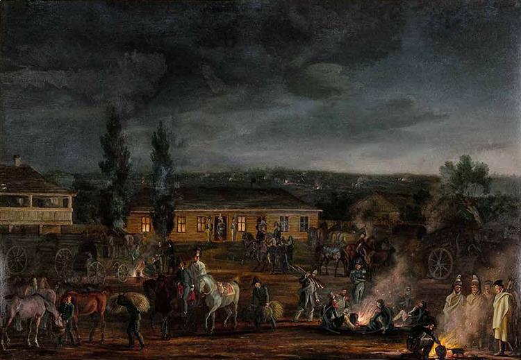Dabrejka, 1812 - Albrecht Adam