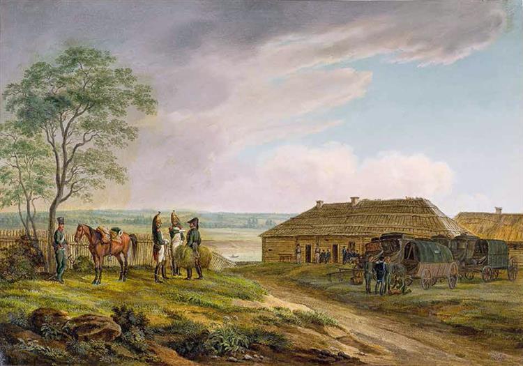 Vialejka). 16 July 1812, 1812 - Albrecht Adam