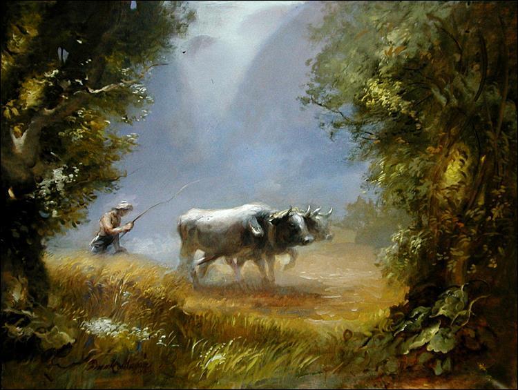 The Oxen, 2003 - Frank Mason