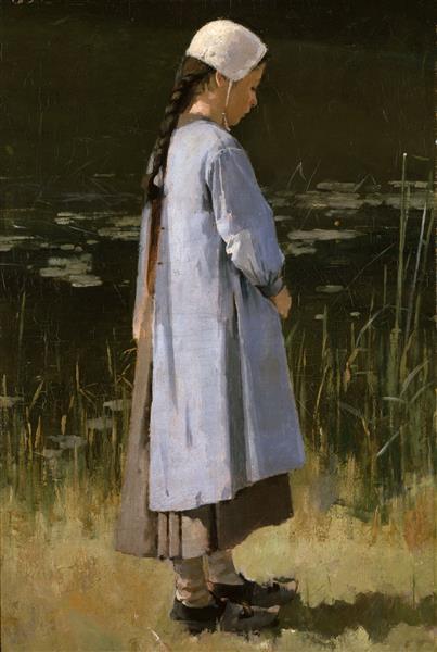 Angelus, 1879 - Theodore Robinson