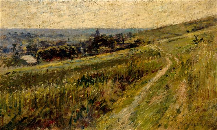 Landscape, c.1889 - Theodore Robinson