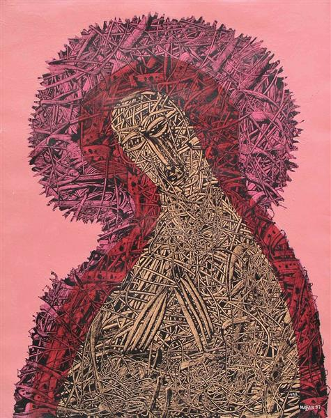 Holy Mother of God. Composition № 458, 1997 - Ivan Marchuk