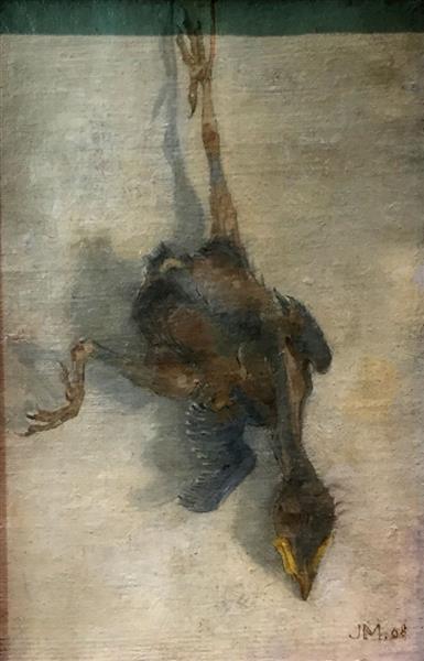 Dead Bird, 1908 - Jan Mankes