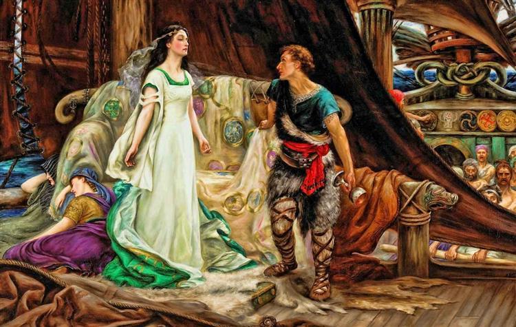 Tristan and Isolde, 1901 - Herbert James Draper