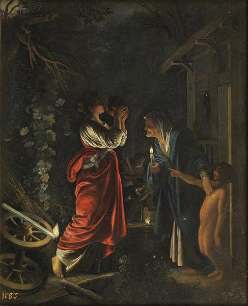 Ceres at the House of Hecuba, c.1605 - Adam Elsheimer