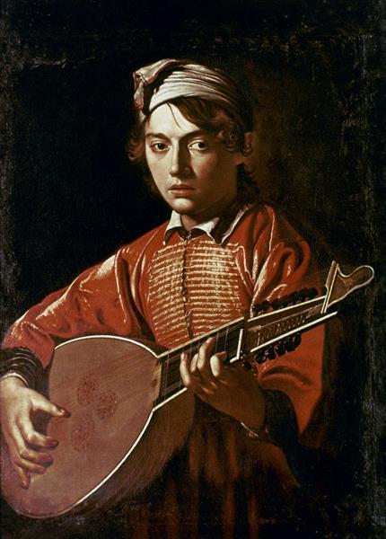 The lute player, 1597 - Caravaggio