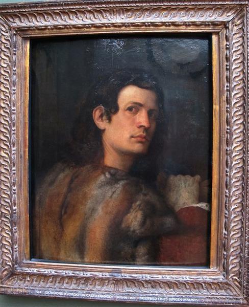 Portrait of young man - Giorgione