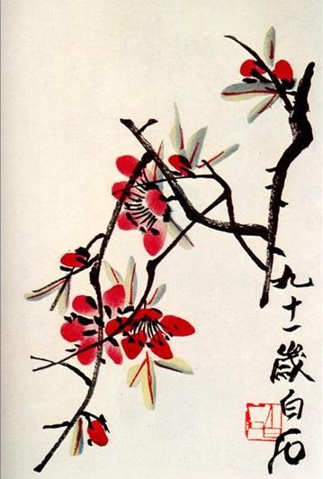 Briar, 1951 - Qi Baishi