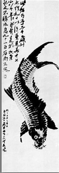 Carp, 1884 - Qi Baishi