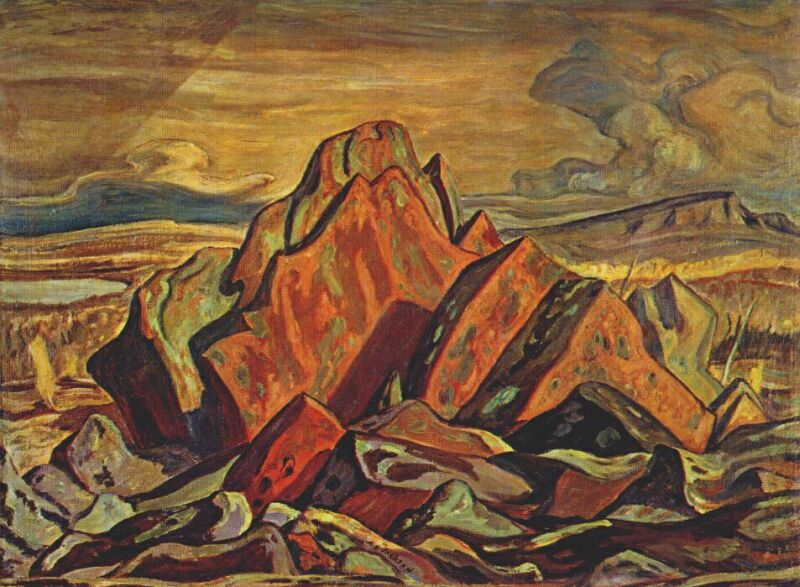 Hills at Great Bear Lake, 1953
