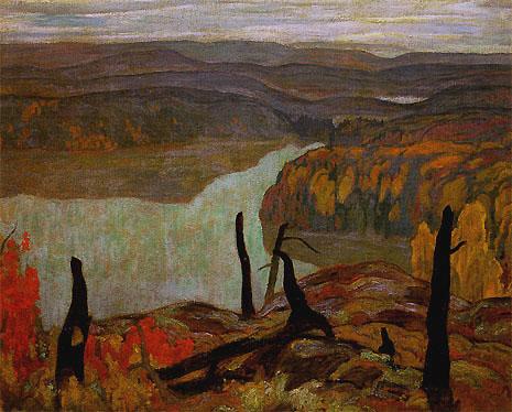 October Morning, Algoma (Wartz Lake), 1920 - A. Y. Jackson