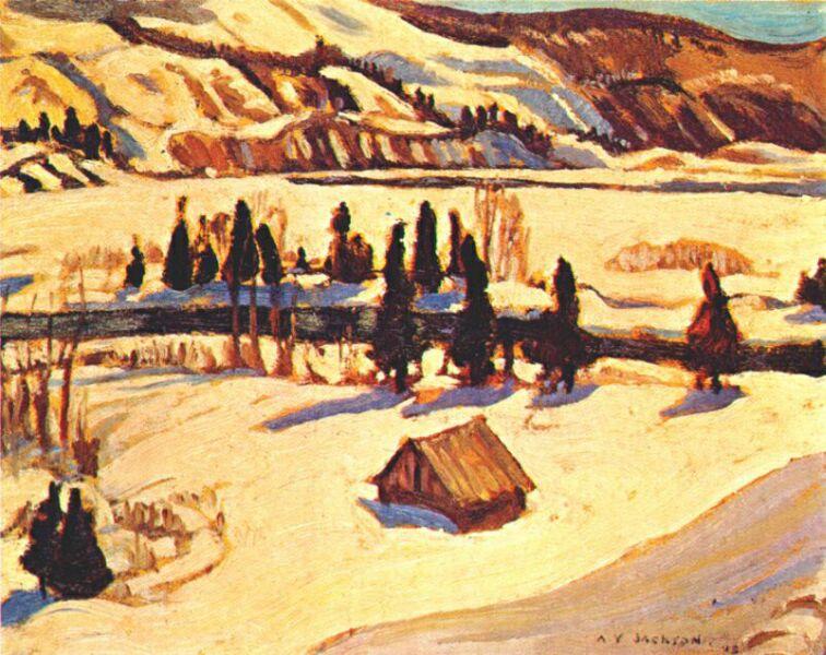 River St. Urbain, 1930