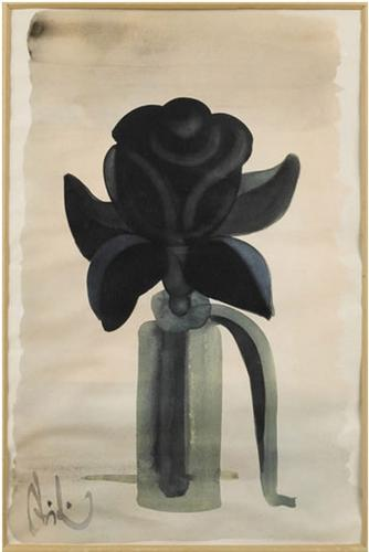Flower, 1970 - Abidin Dino