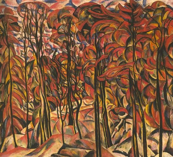 Autumn in the Park, 1925 - Abraham Manievich