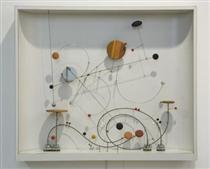 Kinetic Object C-15 - Abraham Palatnik
