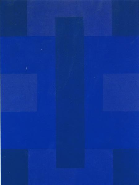 Blue Painting, 1953 - Ad Reinhardt