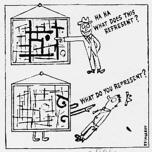 How to Look at Modern Art (detail), 1946 - Ad Reinhardt