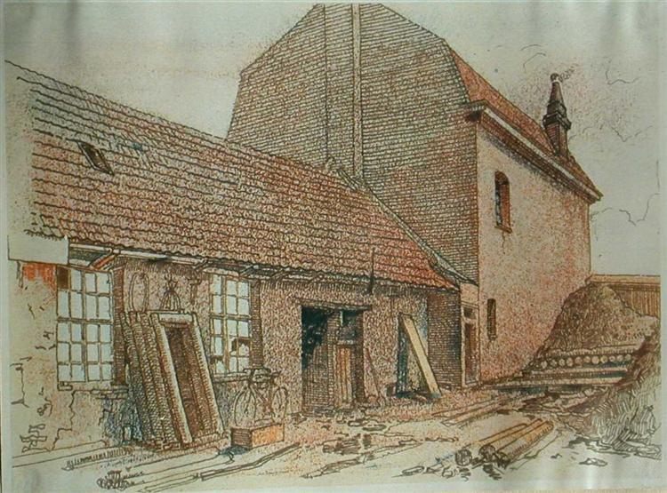 Shelter in Fournes - Adolf Hitler