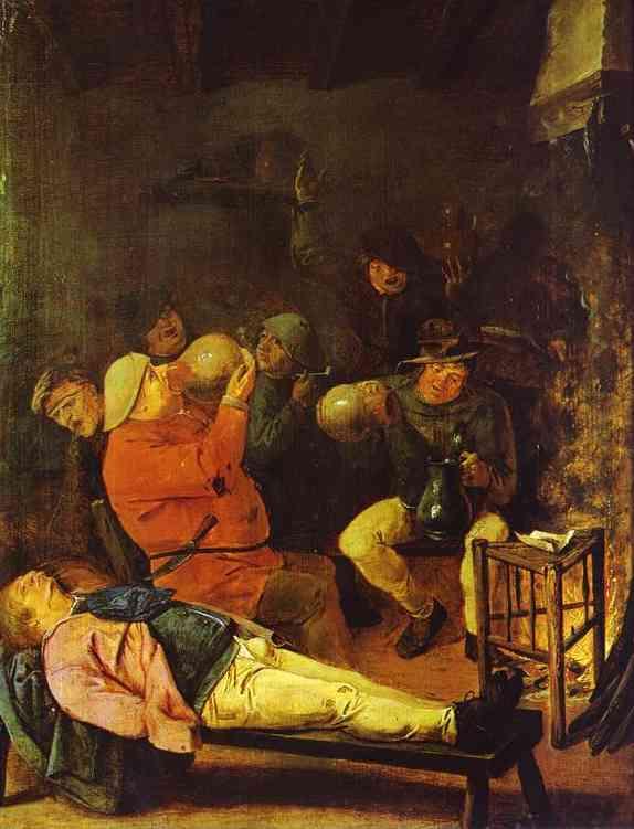 Scene at the Inn, 1625