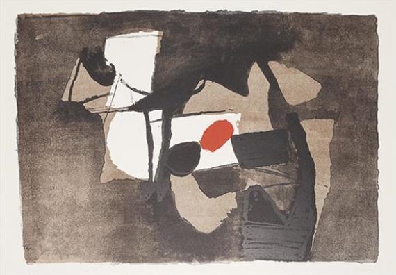 Composizione arancione, 1966