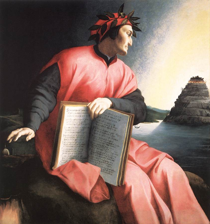 Allegorical Portrait of Dante, 1530