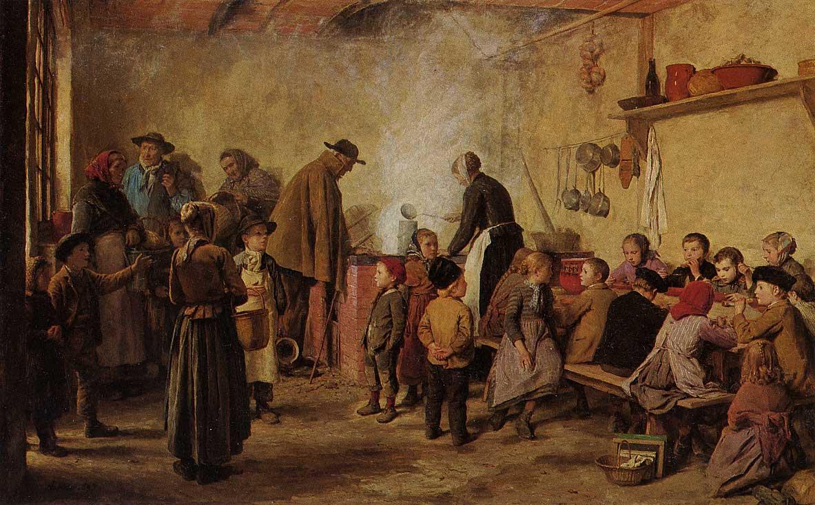 Die Armensuppe, 1893