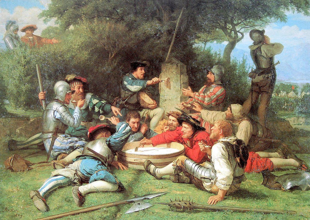 Die Kappeler Milchsuppe, 1869
