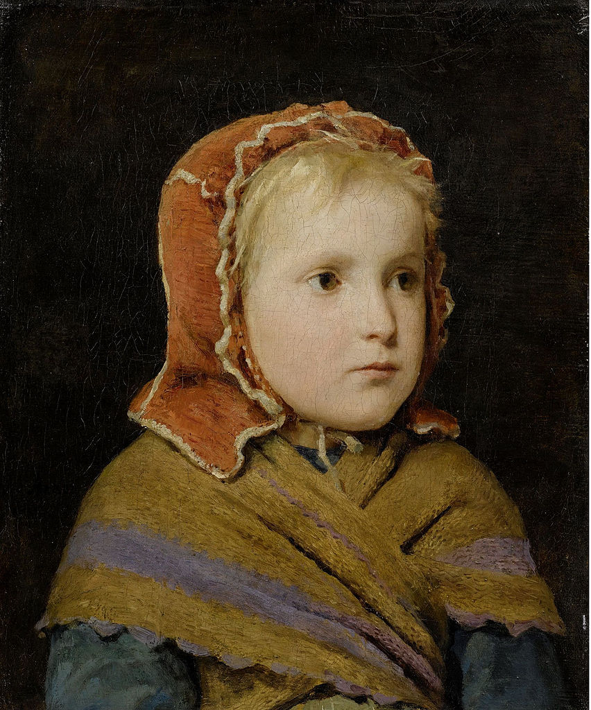 Mädchen mit roter Haube, 1866