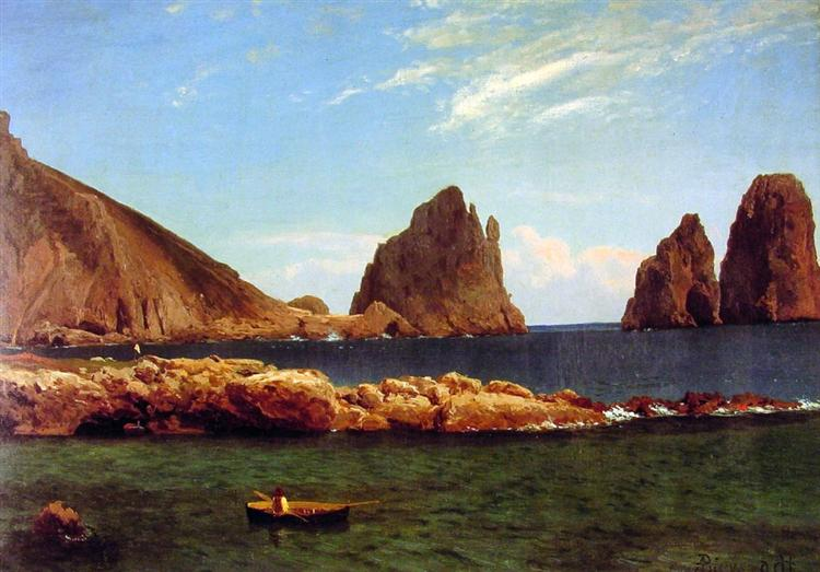 Capri, c.1857 - Альберт Бірштадт