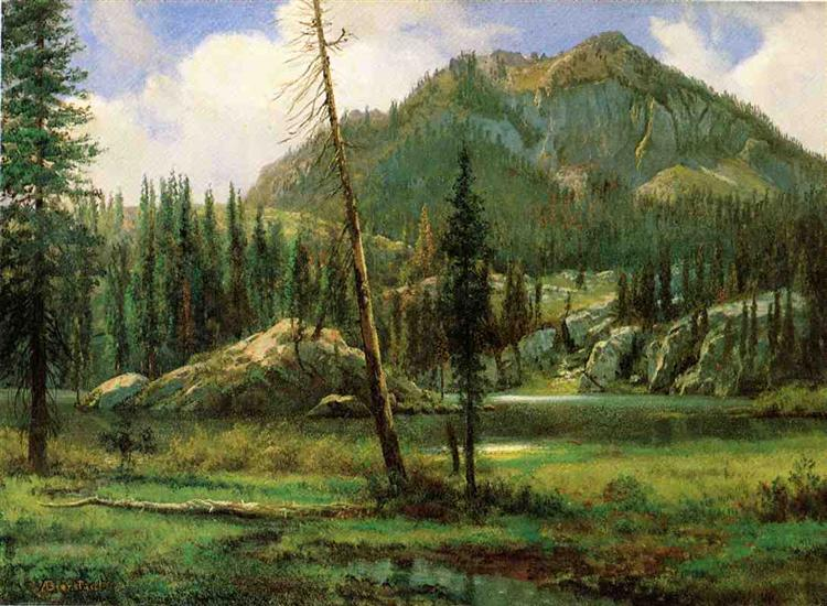 Sierra Nevada Mountains - Albert Bierstadt