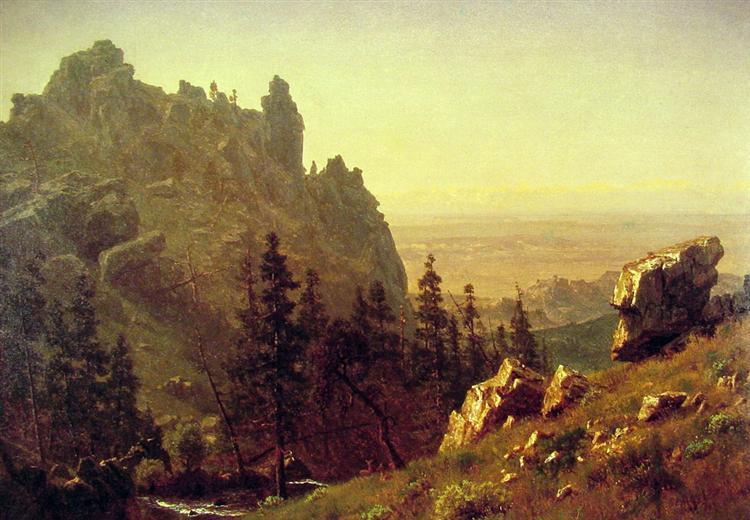 Wind River Country, 1859 - Albert Bierstadt