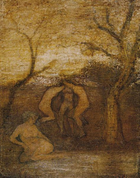Dancing Dryads, 1879 - Albert Pinkham Ryder