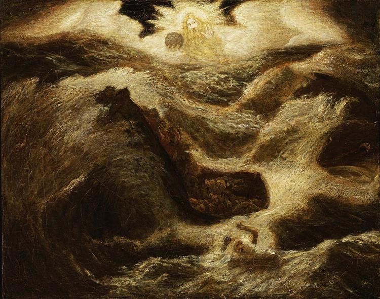 Jonah, 1895 - Albert Pinkham Ryder