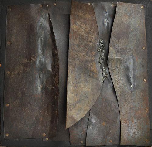 Iron, 1960 - Альберто Буррі
