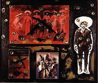 Zapata con balazos, 1988 - Alberto Gironella