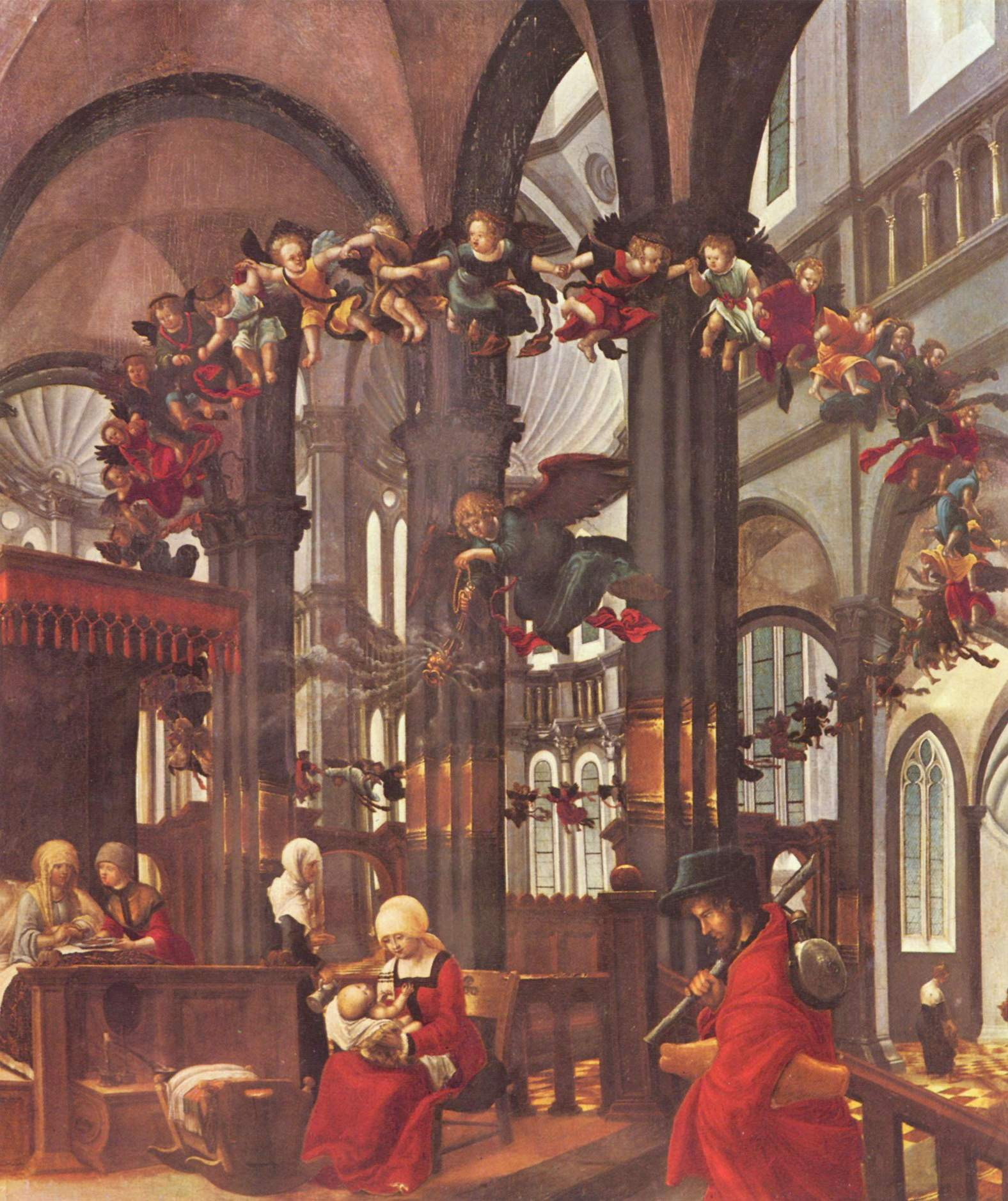Birth of Mary, 1520