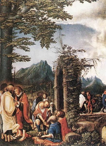 Communion of the Apostles, 1516 - 1518 - Albrecht Altdorfer