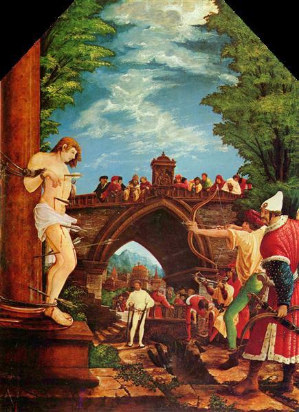 Martyrdom of St. Sebastian, c.1509 - 1516 - Albrecht Altdorfer