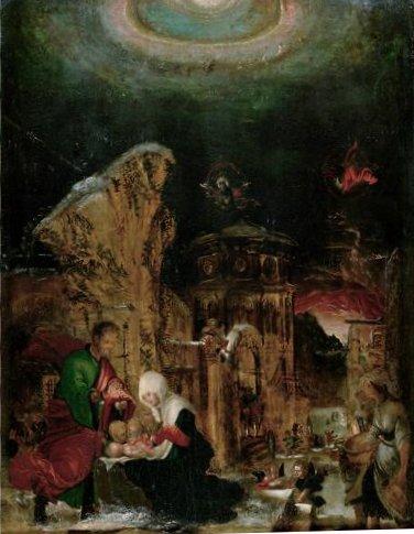 Nativity, 1520 - 1525 - Albrecht Altdorfer