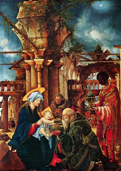 The Adorationof the Magi, c.1530 - 1535 - Albrecht Altdorfer