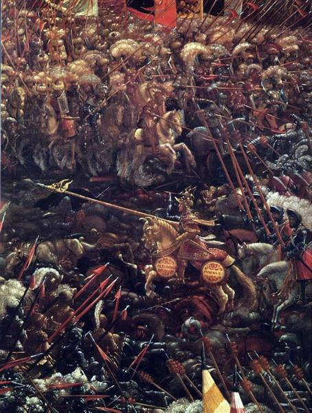 The battle of Issus (fragment), 1529 - Albrecht Altdorfer
