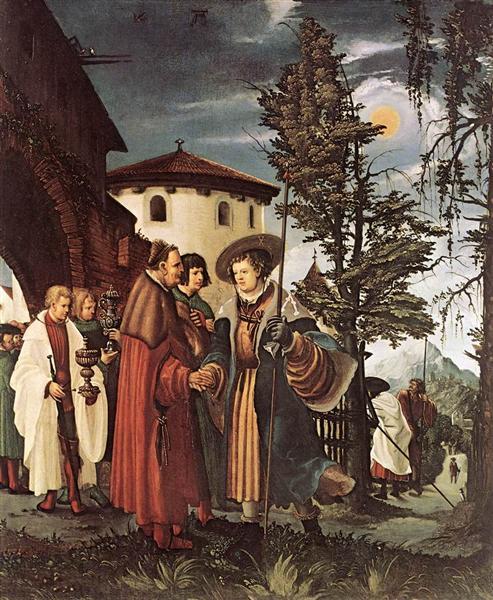 The Departure of Saint Florain, c.1530 - Albrecht Altdorfer