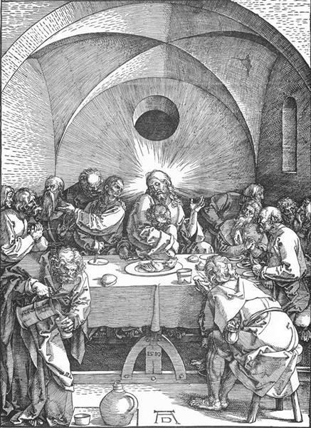 Last Supper, 1496 - 1510 - Albrecht Durer