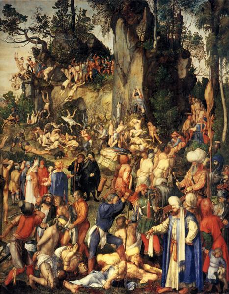 Martyrdom of the Ten Thousand, 1508 - Albrecht Durer