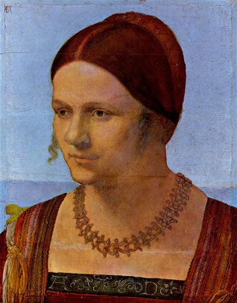 Portrait of a young Venetian, c.1506 - 杜勒