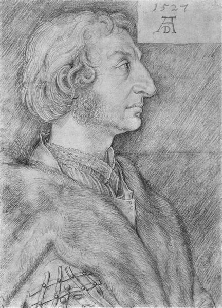 Portrait of Ulrich Starck, 1527 - Albrecht Durer
