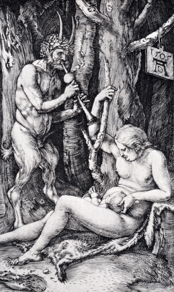 satyr family 1505 NATIONAL TREASURE III PART 2 THE MOST INCREDIBLE DÜRER MONOGRAM NEVER FOUND UNTIL NOW
